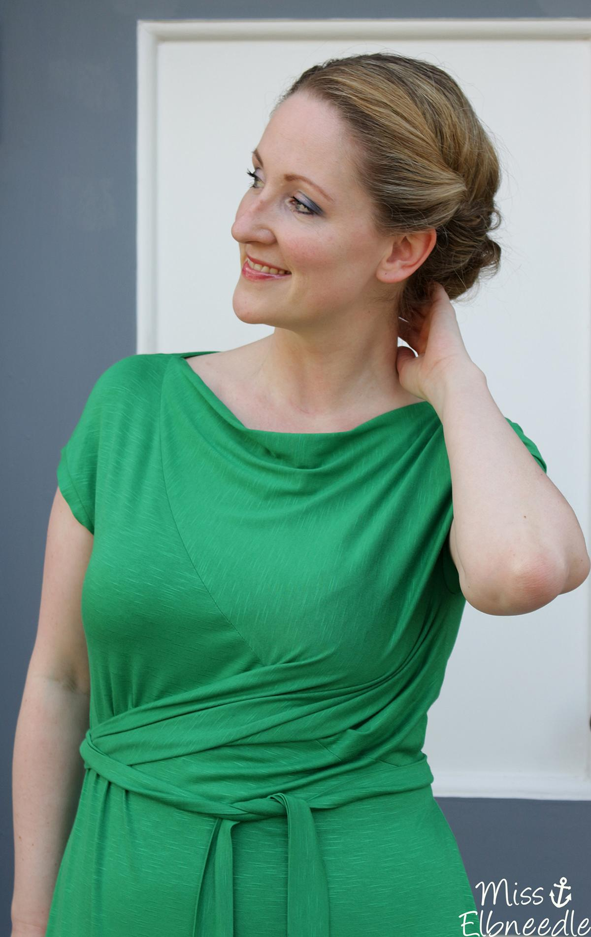 Wickelkleid Marie von Schnittmuster Berlin – Miss Elbneedle